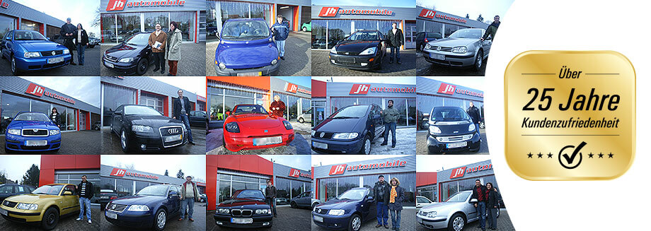 Zufriedene Kunden bei JH Automobile