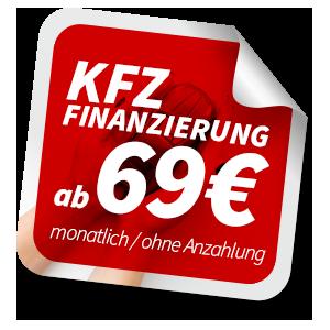 KFZ Finanzierung ab 69€ monatlich
